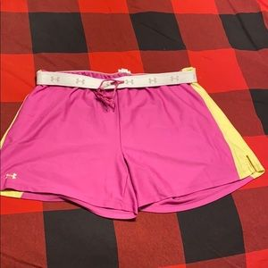NEVER WORN - women's under amour shorts